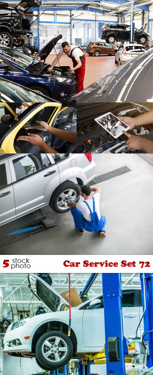 Photos - Car Service Set 72