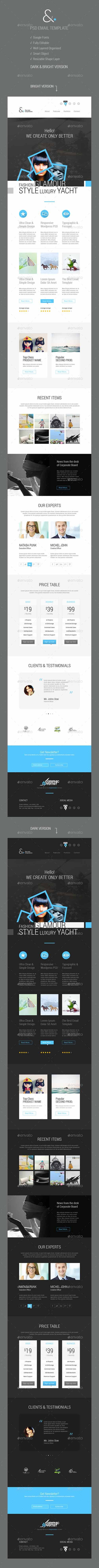 GraphicRiver - And Corporate Email Template - 9078547