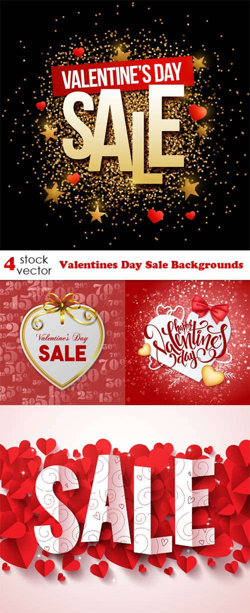 Vectors - Valentines Day Sale Backgrounds