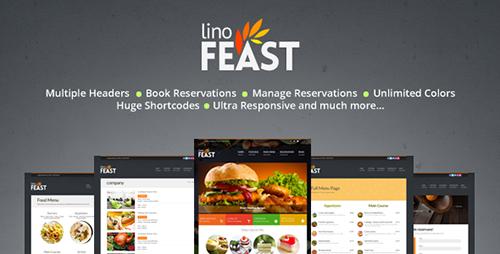ThemeForest - LinoFeast v6.0.0 - Restaurant Responsive WordPress Theme - 4762544