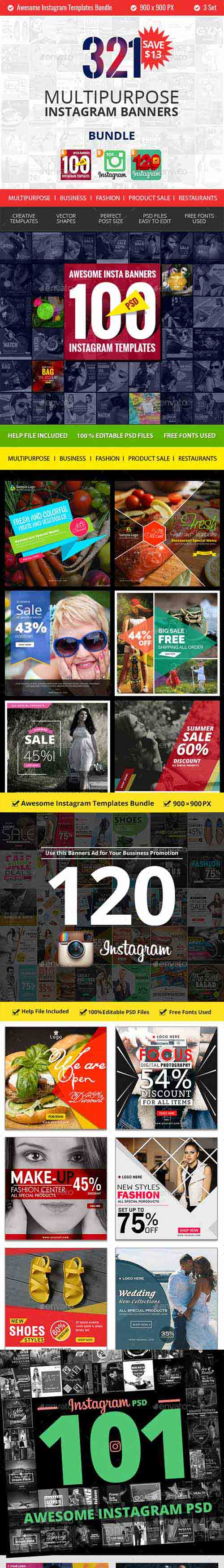 321 Instagram Promotional Bundle 19305530