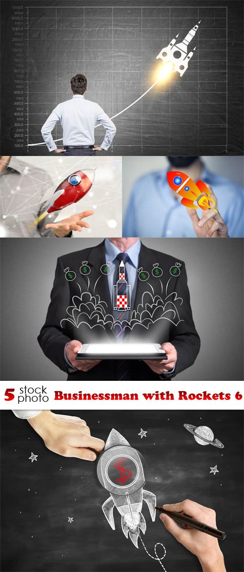 Photos - Businessman with Rockets 6