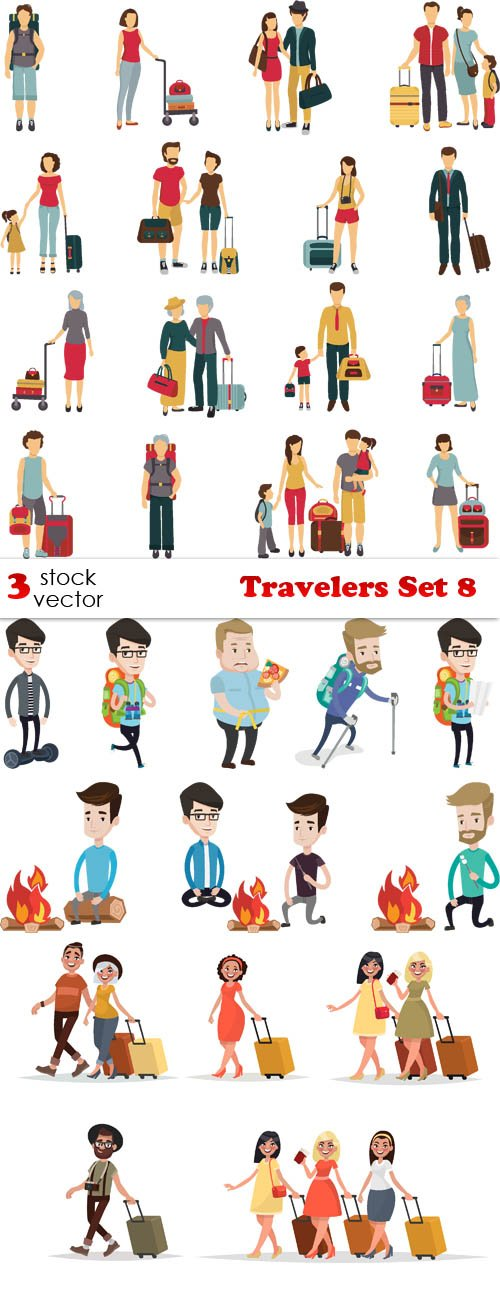 Vectors - Travelers Set 8