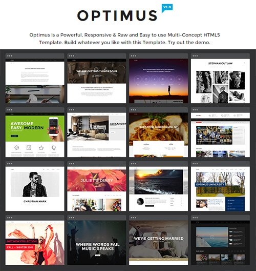 NRGThemes - Optimus 1.0 - Multi-Concept HTML5 Template