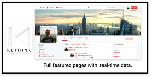 CodeCanyon - Rethink JS v1.0 - Social Network based on Twitter with JS server - 18126339