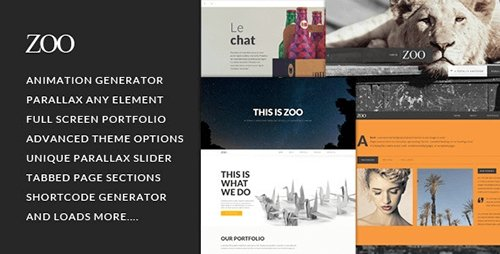 ThemeForest - Zoo v1.1.7 - Responsive One Page Parallax Theme - 6126764