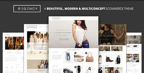 ThemeForest - Regency v1.3.5 - A Beautiful & Modern Ecommerce Theme - 9222795