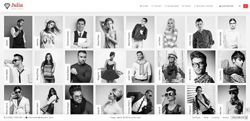 ThemeForest - Julia v1.5.3 - Talent Management WordPress Theme - 13291157