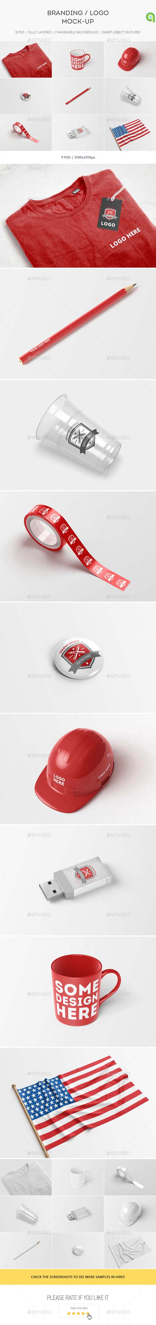 Branding & Logo Mock-up 17243706