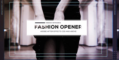 Fashion Opener 19303190 - Project for After Effects (Videohive)