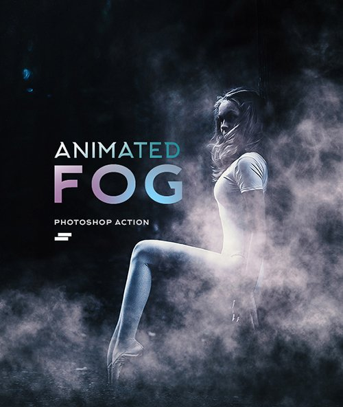GraphicRiver - Gif Animated Fog Photoshop Action 19334115