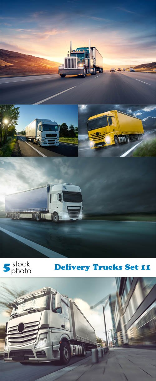 Photos - Delivery Trucks Set 11