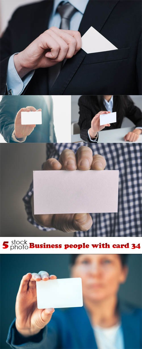 Photos - Business people with card 34