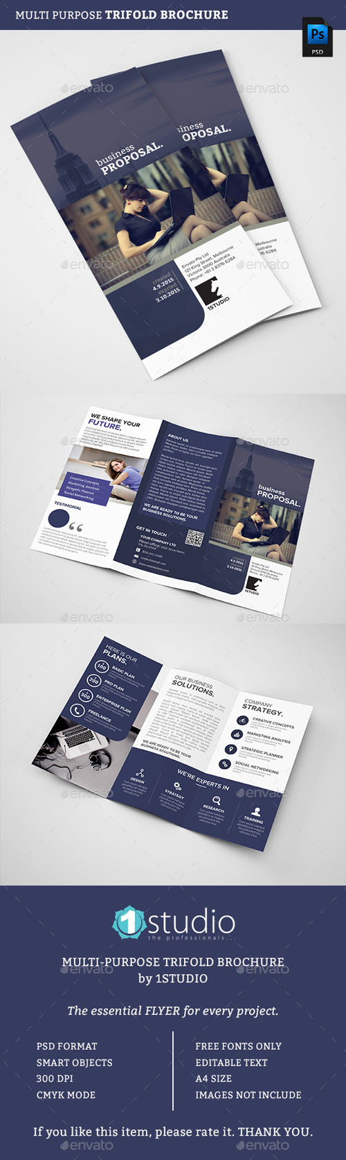 Trifold Brochure 12776450