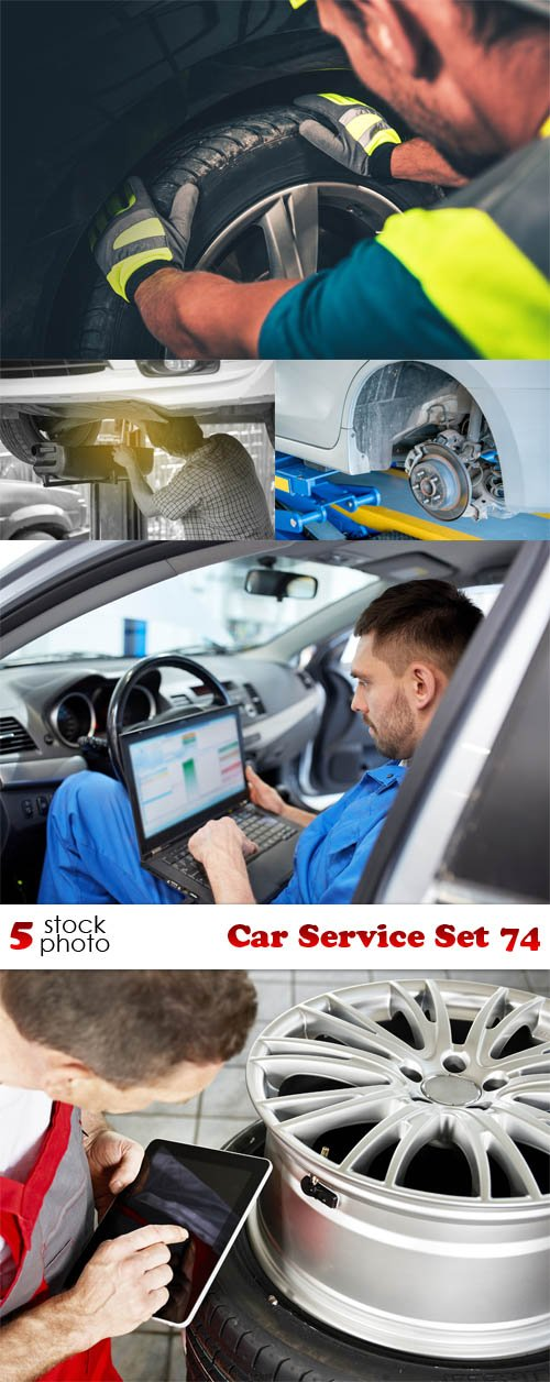 Photos - Car Service Set 74