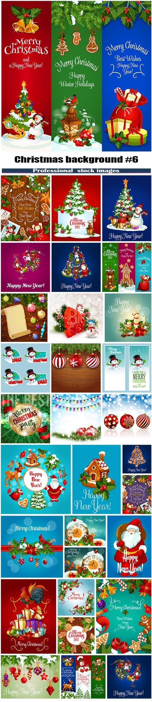 Christmas background #6