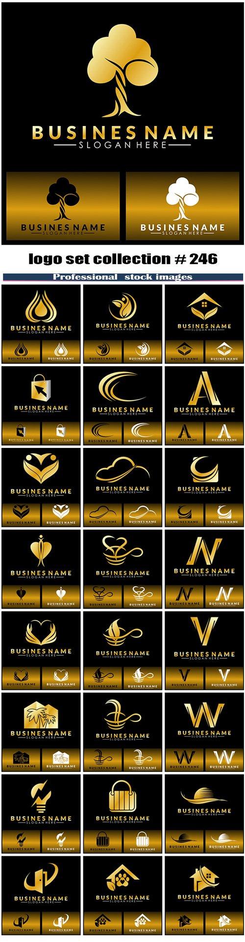 logo set collection # 246