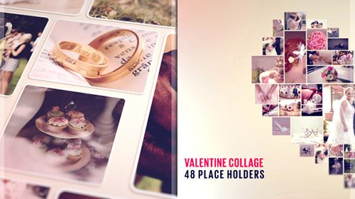 Valentine Collage - Project for After Effects (Videohive)