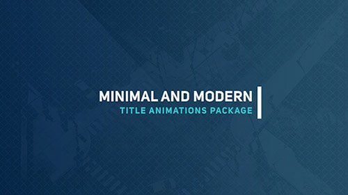 Elegant Titles 3 - Project for After Effects (Videohive)