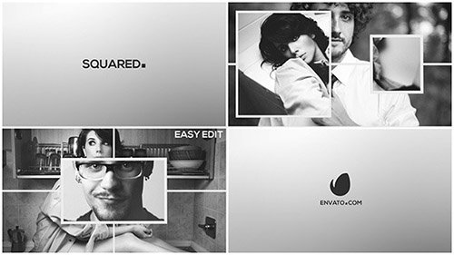 Squared - Slideshow - Project for After Effects (Videohive)