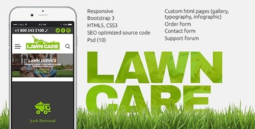 ThemeForest - Lawn Care services - HTML website template (Update: 9 November 16) - 17909395