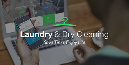 ThemeForest - Laundry v1.0 - Dry Cleaning services HTML website template - 19175795