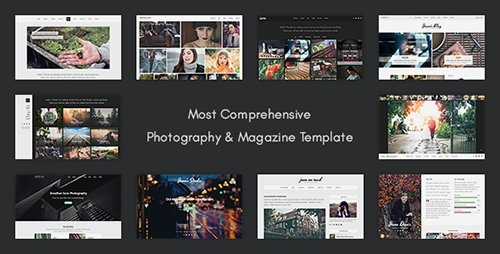 ThemeForest - Juno v1.0 - Photography & Magazine Site Template - 19248302