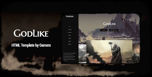ThemeForest - GodLike v1.1.3 - The Game Template - 17166433
