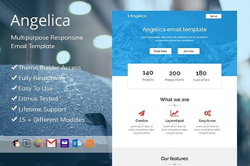 Angeli - Email template + Builder - CM 476127