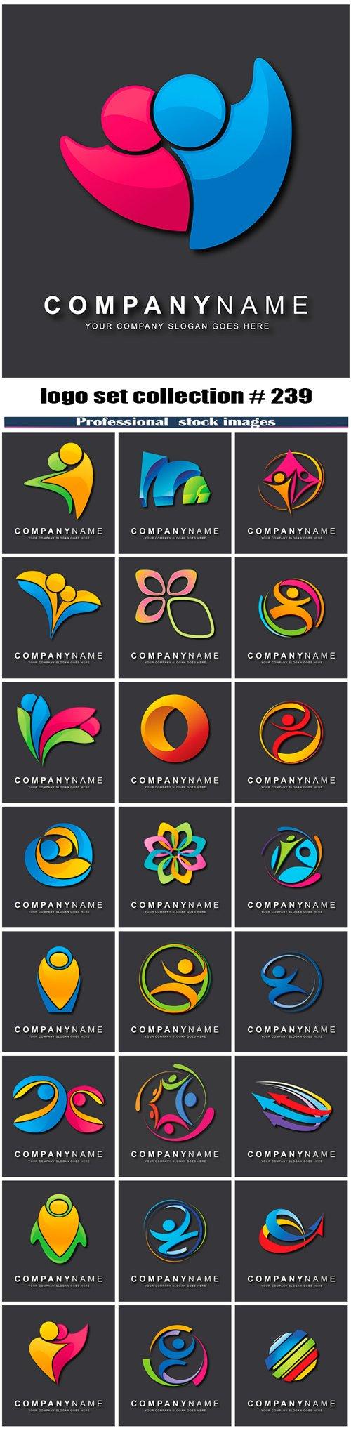logo set collection # 239