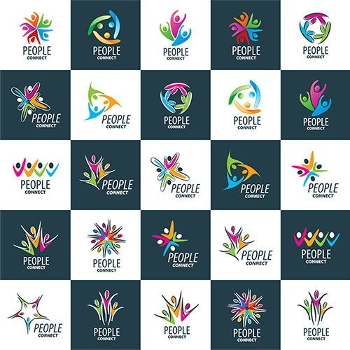 logo set collection # 292
