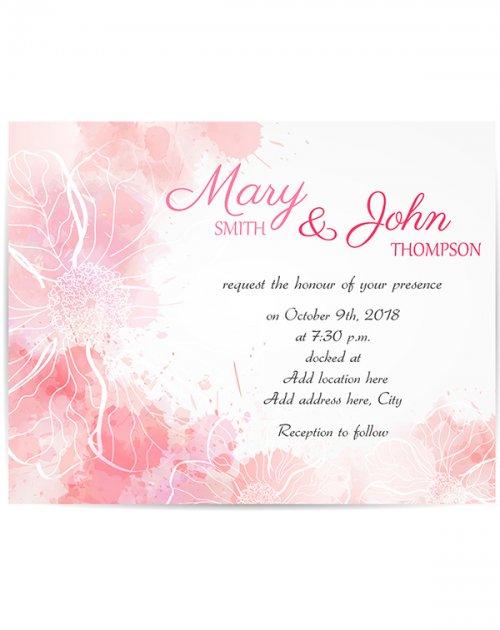 Wedding Invitation Template NitroGFX
