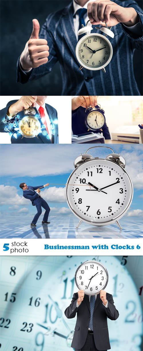 Photos - Businessman with Clocks 6