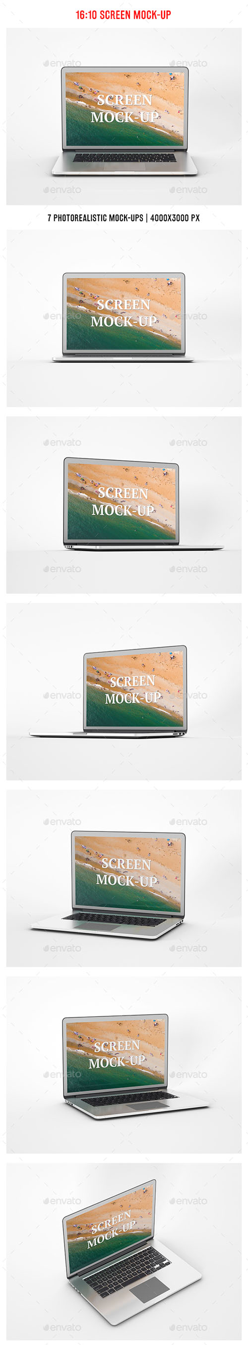 16:10 Screen Mock-Up 19374347