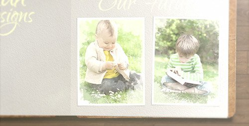 Album Gallery: Memories and Moments - Project for After Effects (Videohive)