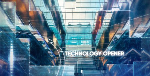 Technology/Hi-tech Opener - Project for After Effects (Videohive)