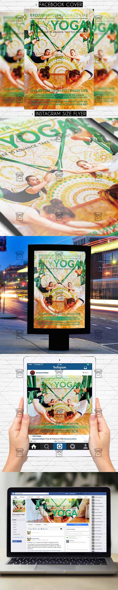 Flyer Template - Fly Yoga