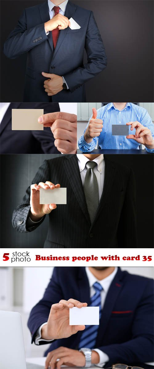 Photos - Business people with card 35