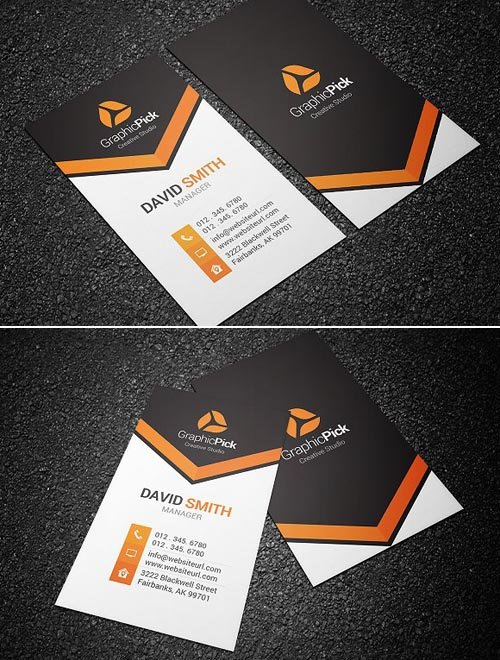 CM Modern Creative Business Card 1245205