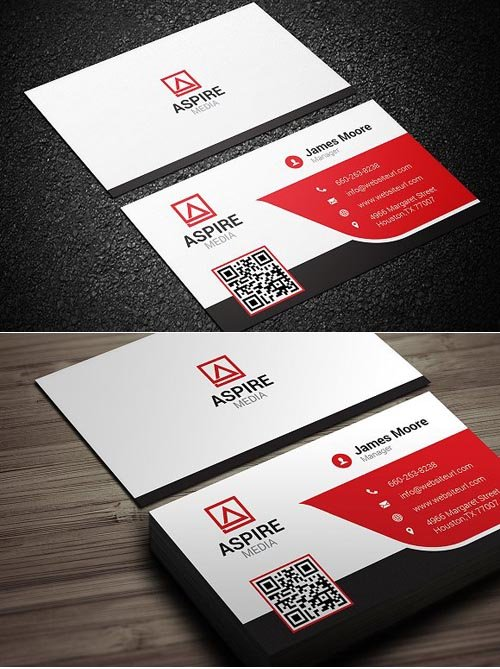 CM Corporate Business Card 1244177
