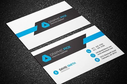 CM Modern Business Card Template 1244136