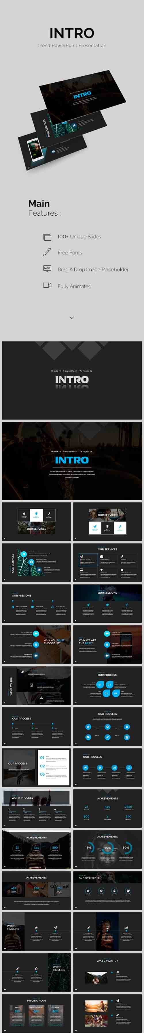 GR - Intro PowerPoint Template 19327491