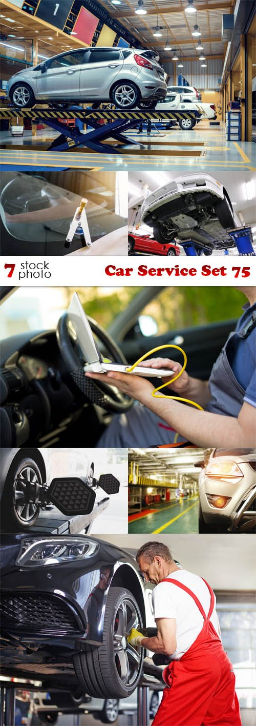 Photos - Car Service Set 75