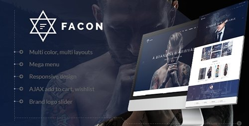 ThemeForest - Facon v1.3 - Fashion Responsive Magento 2 Theme - 16382344