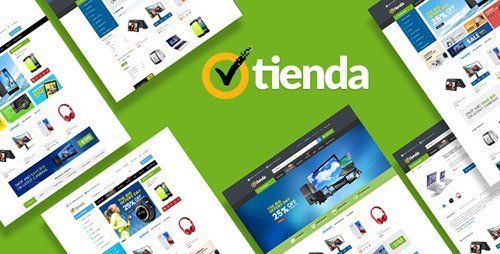 ThemeForest - Tienda v1.0 - Responsive Technology Magento Theme - 19220850
