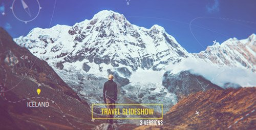 Travel Parallax Slideshow - Project for After Effects (Videohive)