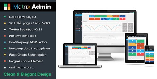 ThemeForest - Matrix Admin (Update: 7 May 13) - 4244699