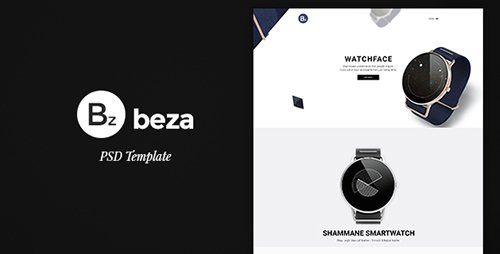 ThemeForest - Beza v1.0 - Single Product PSD Template - 15173603