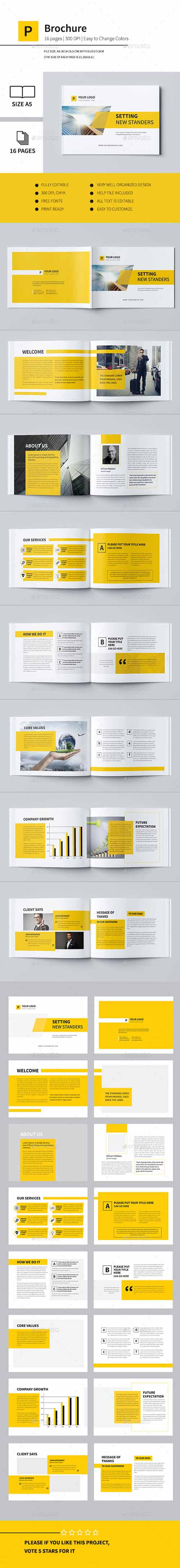 Minimal Business Brochure II 12243729