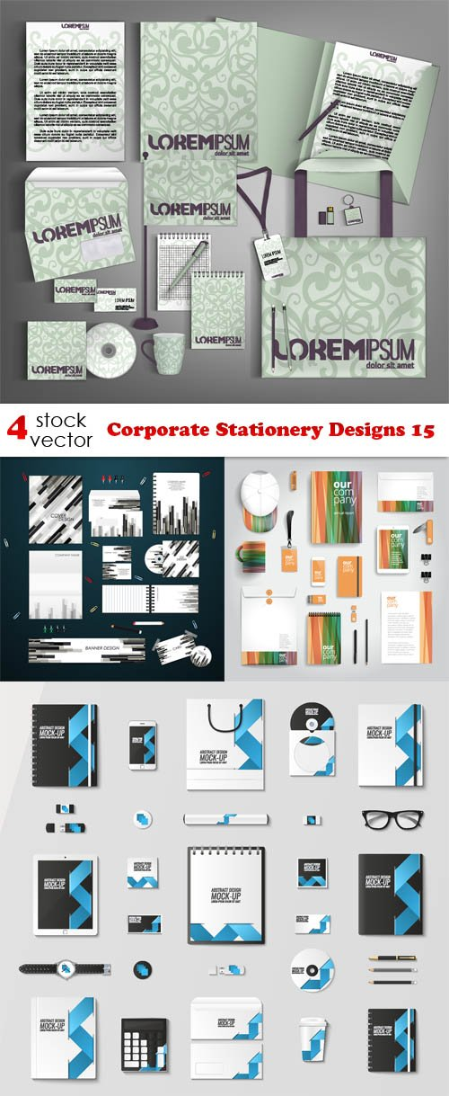 Vectors - Corporate Stationery Designs 15